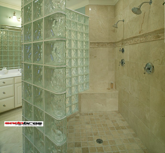 Sadabros our work for Bathroom remodel for 6000
