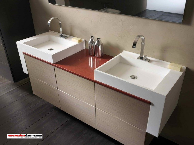 Sadabros our work - Contemporary european designer bathroom vanities ...